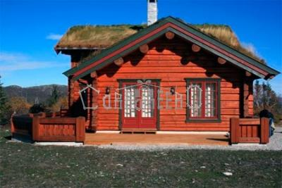 Загородный коттедж в норвежском стиле