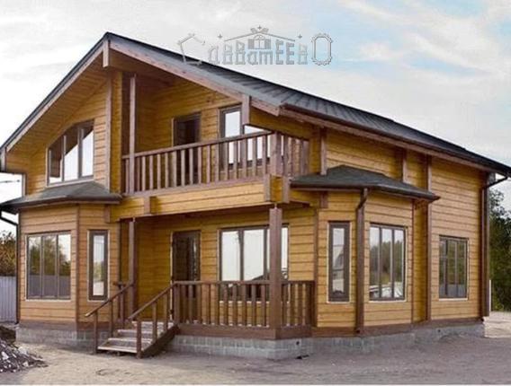 Дом одноэтажный с мансардой Б-406