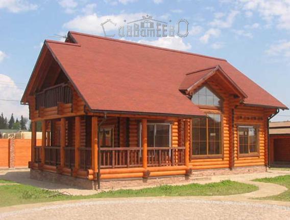 Дом из бревна О-108