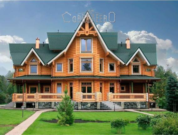 Дом из бревна О-404