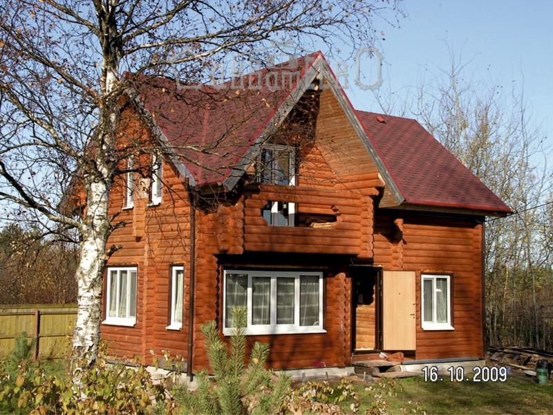 Дом из бревна О-109