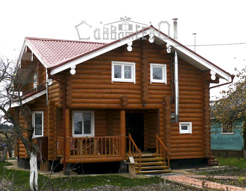 Дом из бревна О-115