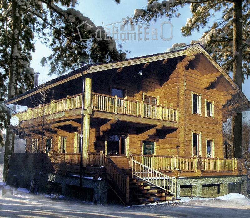 Дом из бруса Б-404