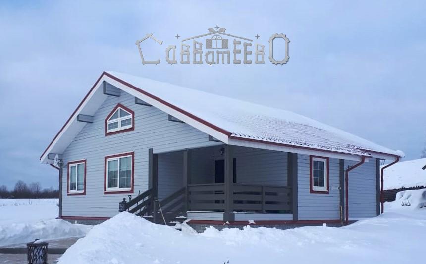 Дом из профилированного бруса 10 на 11  ОД-18