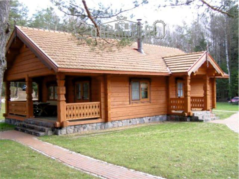 Дом из профилированного бруса ОД-21
